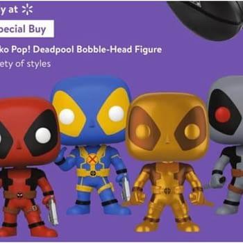 "Deadpool Getting Special 10"" Black Friday Funko Pops"