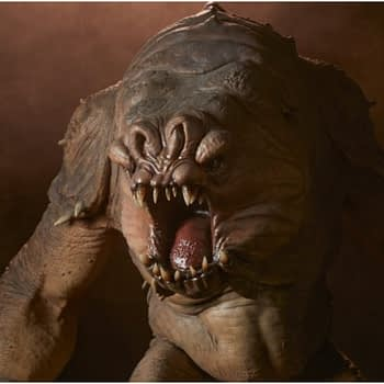 The Rancor Is Unleashed with a New Sideshow Collectibles Deluxe Statue.