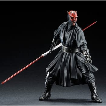 Darth Maul Kotobukiya Brings the Dark Side to Your Shelves