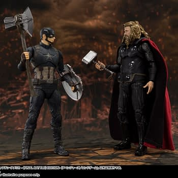 Captain America Becomes a God with New S.H. Figuarts Figure