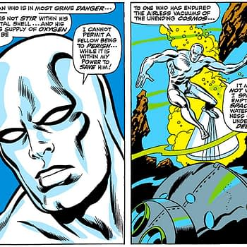 Former Green Lantern Writer Ponders Nature of Silver Surfer's Penis