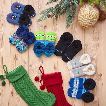 These nerdy slipper socks will keep your feet toasty this season