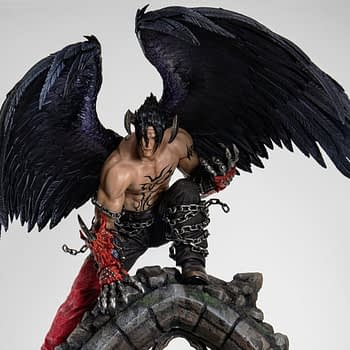 """Tekken 7"" Gets a Special Devil Jin Statue from Pure Arts"
