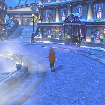 "There's Snow Right Now In ""Pokémon Sword & Shield"" For An Event"