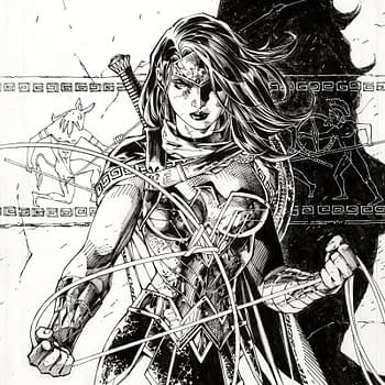 Jim Lee's Wonder Woman #750 Pencils Make For a 1:100 Cover