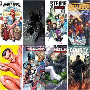 Marvel Comics March 2020 Solicitations - Bounty Hunters, Hellions, Spider-Man Noir, Strange Academy - Frankensteined