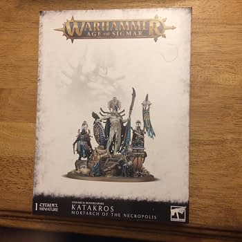 "Review: Games Workshop's ""Katakros"" Miniature - ""Age of Sigmar"""