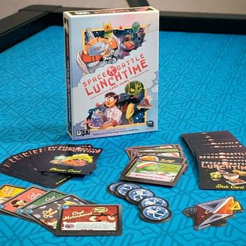 """Space Battle Lunchtime"" Being Adapted to a Card Game!"