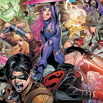 """REVIEW: Young Justice #12 -- """"Like That One Kid In High School Who Just Discovered Adderall"""""""