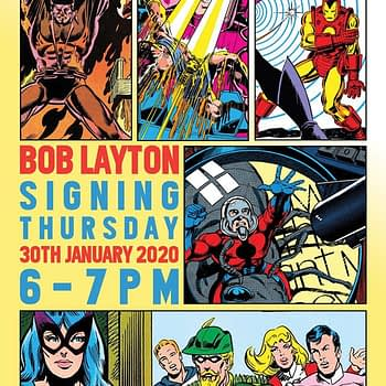 Things To Do In London... If You Like Comics - January 2020