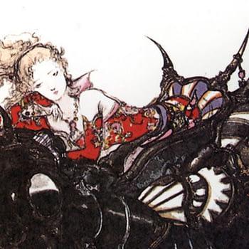"""Final Fantasy"" Artist Yoshitaka Amano Created a ""Vogue Italia"" Cover"