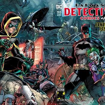 Detective Comics #1000 Tops 2018 Direct Market, With 600,000 Sales