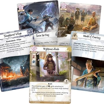 "Fantasy Flight Games Previews ""Clan War"" - ""Legend of the Five Rings"""