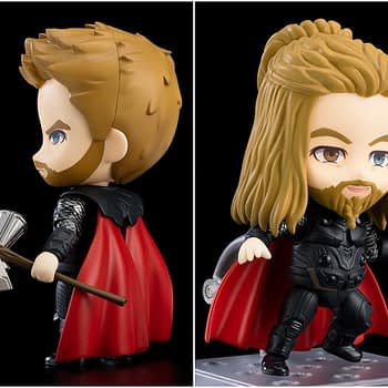 "Thor Goes Deluxe with New ""Avengers: Endgame"" Nendoroid Figure"