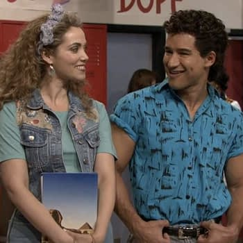 """Saved by the Bell"": Mario Lopez, Elizabeth Berkley Mark First Day of Shooting Sequel Series"