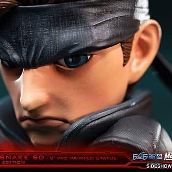 "Solid Snake Returns with New ""Metal Gear Solid"" First 4 Figures Statue"