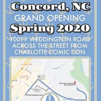 Ssalesfish Comics Opening Third Store, in Concord, North Carolina