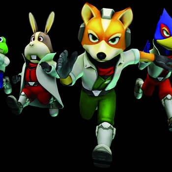 """God of War"" Art Director Completes Series of ""Star Fox"" Paintings"
