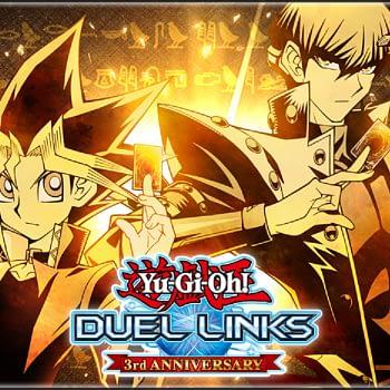 """Yu-Gi-Oh!"" Duel Links Celebrates Its Third Anniversary"
