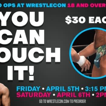 You Can Touch Joey Ryan's Famous Wrestling Penis for 30 Bucks at WrestleCon
