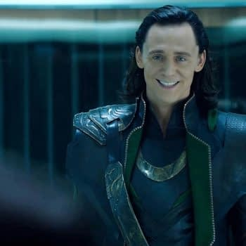 """Loki"" Official Image Shows Tom Hiddleston Going Asgardian ""Saturday Night Fever;"" Series Logo"