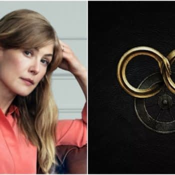 """The Wheel of Time"": Rosamund Pike (""Gone Girl"") Cast as Moiraine in Amazon Prime Series [REPORT]"