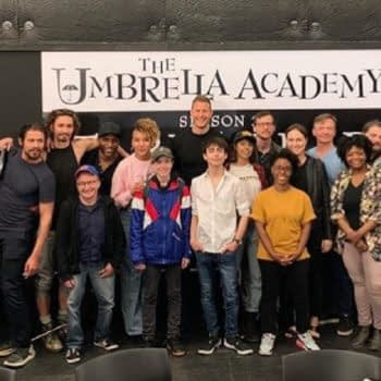 """The Umbrella Academy"" Season 2: Writer/EP Steve Blackman Posts First Slate, ""Family"" Photos"