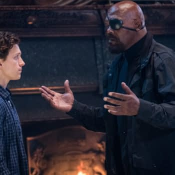 """Samuel L. Jackson is Not Impressed With This """"Spider-Man: Far From Home"""" Marketing Error"""