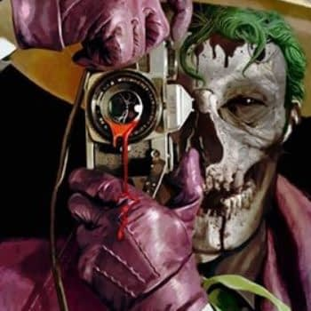 Separated At Birth: Arthur Suydam's DCeased #4 and Harley's Joker Cosplay - With a Killing Joke
