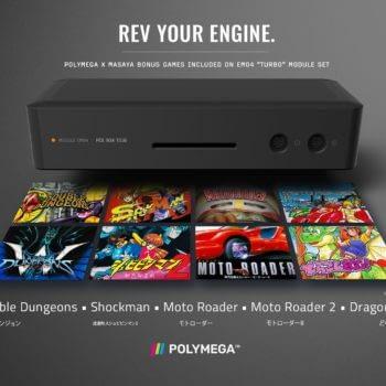 Polymega HD Adds Five TurboGrafx-16 Games To Module Setup
