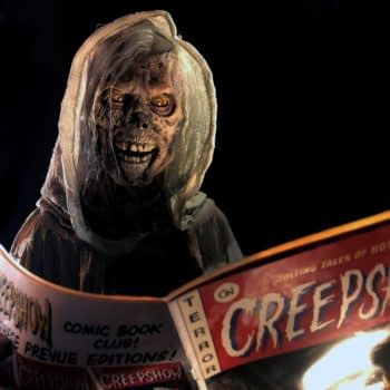 """""""Creepshow"""": Tricia Helfer Loses It in First-Look Image [PREVIEW]"""