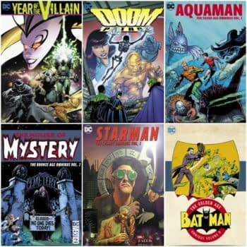 New DC Comics Omnibuses For 2020, Include Starman, Year Of The Villain and John Byrne's Doom Patrol