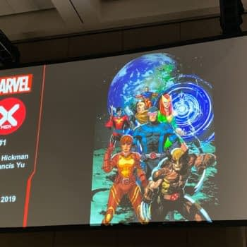 Jonathan Hickman and Leinil Francis Yu Launch X-Men #1 on the Moon, Starring Every Single Mutant #DawnOfX