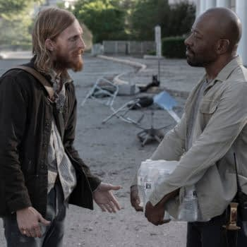 """""""Fear the Walking Dead"""" S05E10 """"210 Words Per Minute"""": Morgan, Dwight & Grace Hit the Mall [OPENING MINUTES]"""