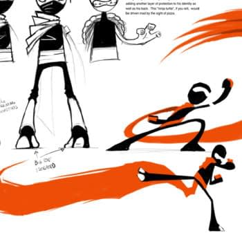 Jhonen Vázquez Designs For Randy Cunningham, 9th Grade Ninja