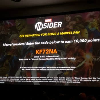 Another Marvel Insider Code For NYCC Attendees Worth 10,000 Points...