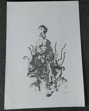 Fake Mike Mignola Sketches Sell for Hundreds Of Dollars on eBay