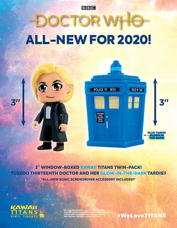 Tenth and Thirteenth Doctors Whos Together Fighting Weeping Angels and Autons in Titan Comics April 2020 Solicitations