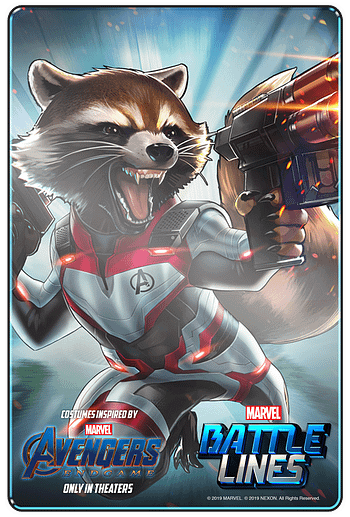 Avengers: Endgame is Coming to Mobile CCG Marvel Battle Lines