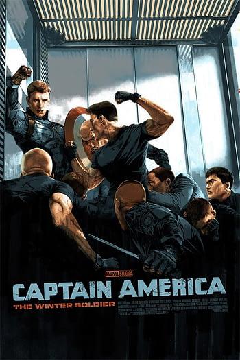 Mondo Marvel Studios 10th Anniversary CAWS Poster 1