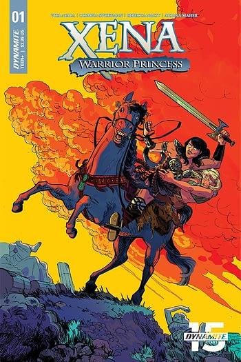 Vita Ayala Launches New Xena Warrior Princess Comic With