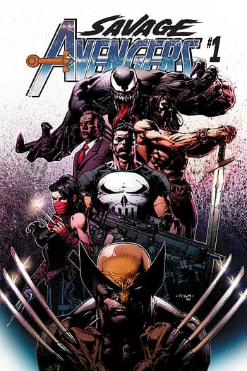 Marvel Avengers' Free Comic Book Day Preview Debuts Savage Avengers