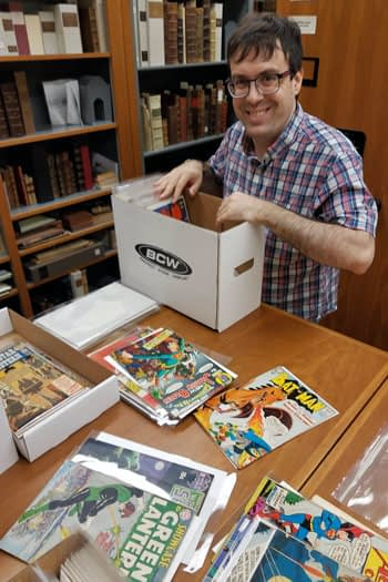 Two-and-a-Half Million Dollars Worth of Comics Donated to University of South Carolina