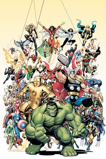 Arthur Adams, Declan Shalvey and Ed McGuinness Get Marvel Monograph Volumes