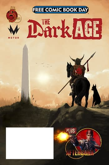 Dark Age Free Comic Book Day Selling Copies For $12 on eBay