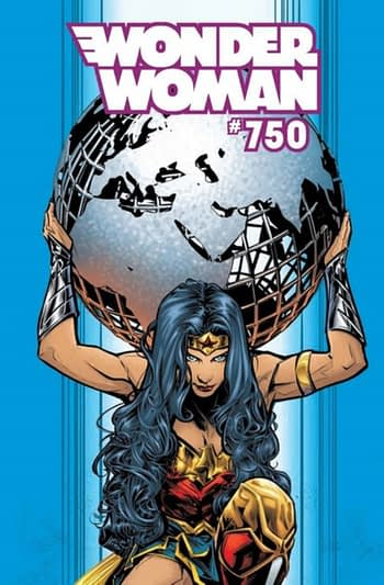 Wonder Woman #750 Leads DC Comics January 2020 Solicitations