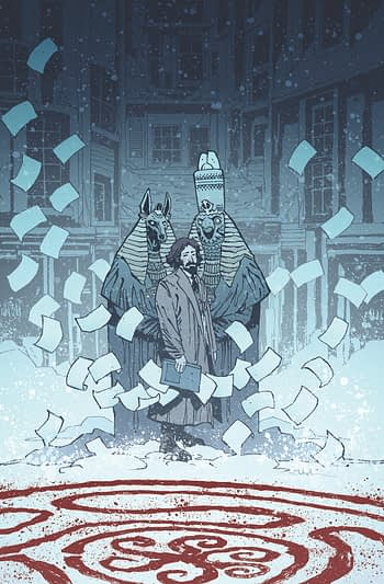 BANG, Blackwood and BPRD and Peter Milligan and Jesus Hervas' Tomorrow #1 (of 5) Peter Milligan (W), Jesus Hervas (Launch in Dark Horse Comics February 2020 Solicits