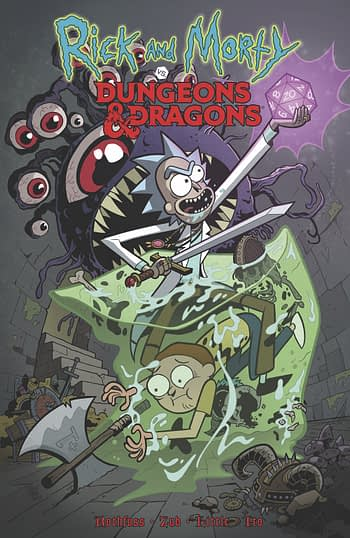 Second Volume of Rick & Morty Vs Dungeons & Dragons For October?