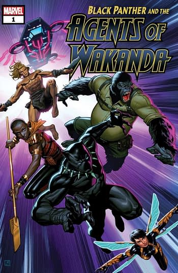 Avengers Spinoff Black Panther and the Agents of Wakanda Launches at Marvel in September