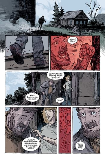 5 Pages From Warren Ellis and Jason Howard's Trees: Three Fates #1
